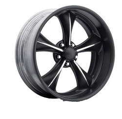 Boyd Coddington Wheels Possessed - Black with Diamond Cut Spoke Rim - 19x12