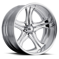 Boyd Coddington Wheels Rodster - Polished - 28x12