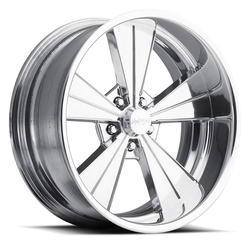Boyd Coddington Wheels Rumbler - Polished Rim - 17x10