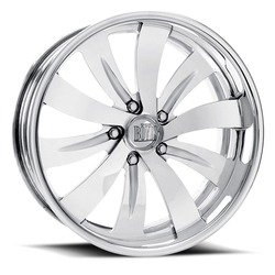 Boyd Coddington Wheels Turbine - Polished - 15x3.5
