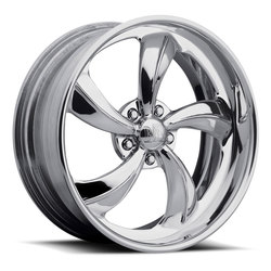 Boyd Coddington Wheels Twisted Knoxville - Polished Rim - 24x15