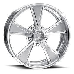 Boyd Coddington Wheels Two Tone - Polished with Satin Spokes - 15x3.5