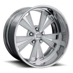 Boyd Coddington Wheels V-Twin - Polished - 22x14
