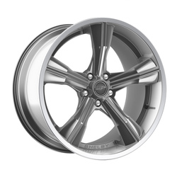 Carroll Shelby Wheels CS 11 - Chrome Powder w/Polished Lip Rim