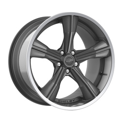 Carroll Shelby Wheels CS 11 - Gunmetal w/Polished Lip Rim