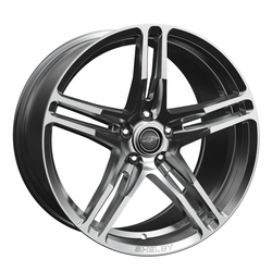 Carroll Shelby Wheels CS 14 - Chrome Powder (Hyper Silver) Rim