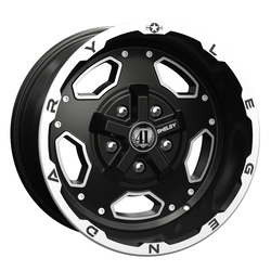 Carroll Shelby Wheels Carroll Shelby Wheels CS 15 - Black - 17x9