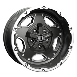 Carroll Shelby Wheels CS 15 - Gunmetal Rim