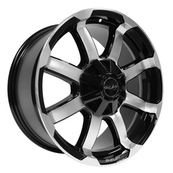 Carroll Shelby Wheels CS 17 F150 - Black w/Machined Face Rim