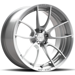 Carroll Shelby Wheels CS 21 - Raw Brushed Aluminum Rim - 19x10.5