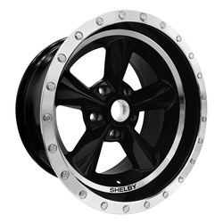 Carroll Shelby Wheels CS 25 - Black Rim