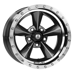 Carroll Shelby Wheels Carroll Shelby Wheels CS 25 - Gunmetal - 17x9