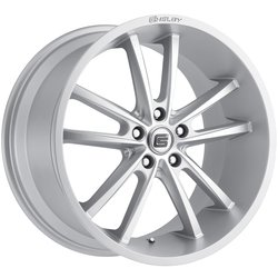 Carroll Shelby Wheels CS 2 - Silver Rim