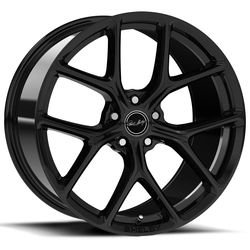 Carroll Shelby Wheels CS 3 - Black - 20x9.5