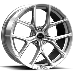 Carroll Shelby Wheels CS 3 - Chrome Powder (Hyper Silver)