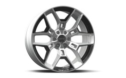 Carroll Shelby Wheels CS 45 - Hyper Silver w/Black Inserts Rim - 22x9.5