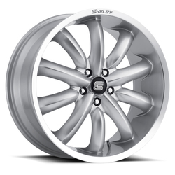 Carroll Shelby Wheels CS 56 2.0 - Silver Rim - 20x9