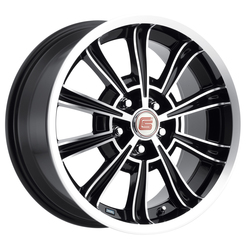 Carroll Shelby Wheels CS 66 - Black Rim