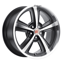Carroll Shelby Wheels CS 69 - Hyper Black (Gunmetal) Rim