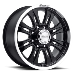 Carroll Shelby Wheels CS-48 - Black - 20x9