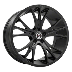 Carroll Shelby Wheels CS-1 - Black Rim - 20x9