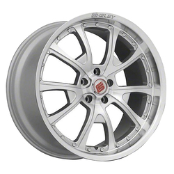 Carroll Shelby Wheels CS-40 - Silver Rim