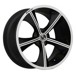 Carroll Shelby Wheels CS-70 - Black with Machind Face Rim - 20x9