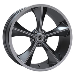 Carroll Shelby Wheels CS-70 - Gunmetal Rim - 20x9