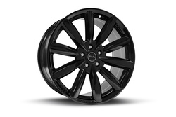 Carroll Shelby Wheels CS80 - Black Rim - 20x11