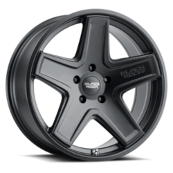 Black Rock Wheels 955B Detour - Matte Black Rim