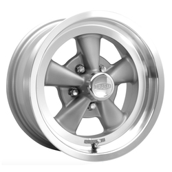 Cragar Wheels 610G G/T - Gray Spoke/Machined lip Rim - 17x7