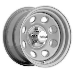 Cragar Wheels 399 Soft 8 - Silver Rim - 15x7