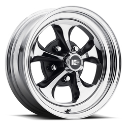 Cragar Wheels Cragar Wheels 32C Klassic - Chrome/Black - 15x6