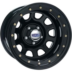 Cragar Wheels Series 352 Street Lock D Window - Gloss Black Rim - 15x7