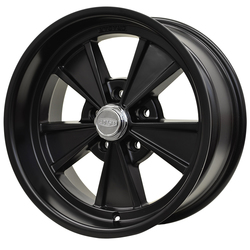 Cragar Wheels Eliminator 500B - Powder Coat Black Rim - 15x7
