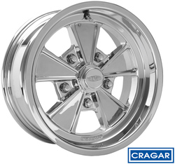 Cragar Wheels Eliminator 500C - Chrome Rim