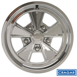 Cragar Wheels Eliminator 500P - Polished Rim