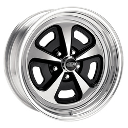 Cragar Wheels 510C Magnum - Chrome / Black Inserts Rim - 15x7