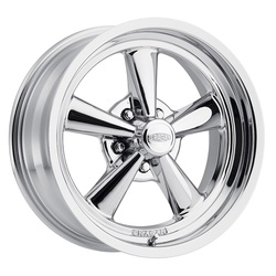 Cragar Wheels 610C G/T RWD - Chrome Plated Rim - 17x7
