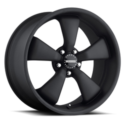 Cragar Wheels 617B Modern Muscle - Matte Black Rim