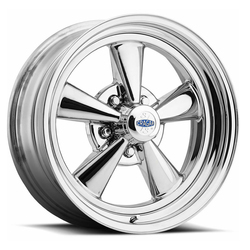 Cragar Wheels 61C S/S - Chrome w/Alum Ctr Rim - 17x7