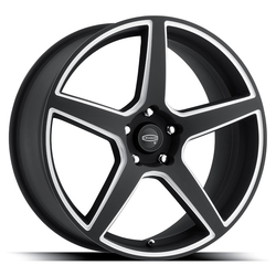 Cragar Wheels 620BMBC Modern Muscle - Black w/ Machined Accents Rim