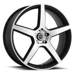 Cragar Wheels 620MB Modern Muscle - Machined Face w/ Black Rim