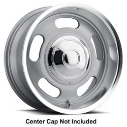 Cragar Wheels Cragar Wheels Cragar Rally II - Silver with Mirror Machined Lip - 17x9