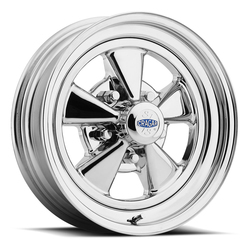 Cragar Wheels 08/61 S/S Super Sport - Chrome w/ Aluminum Center Rim - 15x7