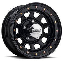 Unique Wheels Series 252 Street Lock - Gloss Black Rim