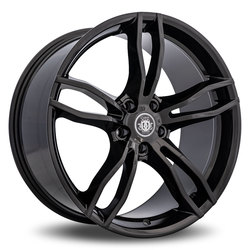 Curva Wheels C17 - Gloss Black