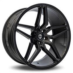 Curva Wheels C25 - Gloss Black