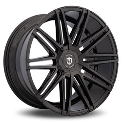 Curva Wheels C48 - Gloss Black Rim - 22x10.5