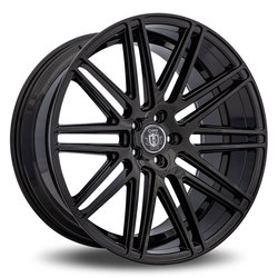 Curva Wheels C50 - Gloss Black Rim - 22x10.5